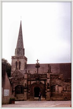 La Martyre,  enclos paroissial, Bretagna