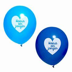Hoera een Jongen Ballonnen - Hieppp