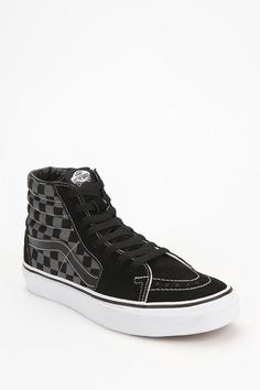 Vans SK8 Checkerboard High-Top Sneaker  #UrbanOutfitters