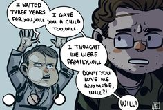 Hannibal and Will ||| Hannibal Fan Art