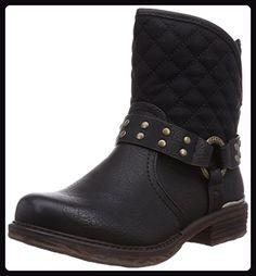 Rieker L0604, Damen Kurzschaft Stiefel, Schwarz (schwarz00