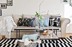 Maderas nobles y azules en decoración | Decorar tu casa es facilisimo.com