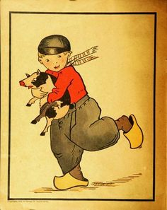 """Mitchell's Oma calls him her """"Little Dutch Boy"""" and he likes it...Dutch Mother Goose"""