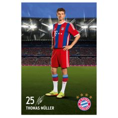 FC Bayern Poster Müller - Official FC Bayern Online Store