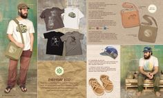 Everyday #Eco. #Men's clothing and accessories