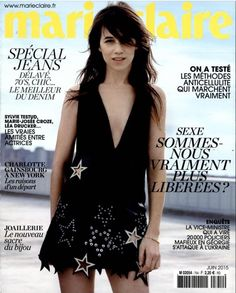 Charlotte Gainsbourg, Marie Claire (France), June 2015 #charlottegainsbourg #marieclaire