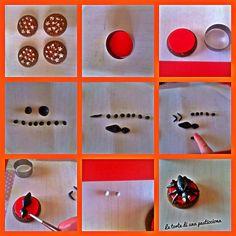 Passo passo biscotti per halloween con ragnetto... Semplici semplici!!!
