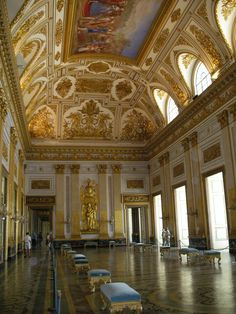 Caserta Royal Palace is a former royal residence in Caserta, southern Italy. (01)