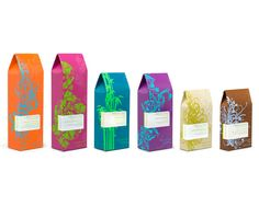 Beautao Skincare by Yael Miller, via Behance > Love the color dynamics