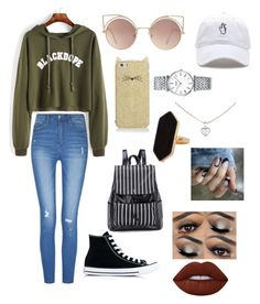 """""""Snap to it"""" by thedrake7 on Polyvore featuring Converse, Kate Spade, MANGO, Longines, Cartier, Jaeger and Lime Crime"""