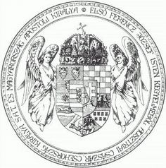 Official seal of the Kingdom of Hungary.