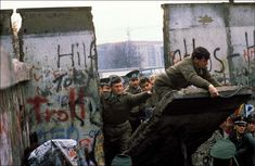 Berlin 1989 - what a beautiful moment in history