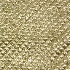 Fancies - Quilted Gold Lame Fabric