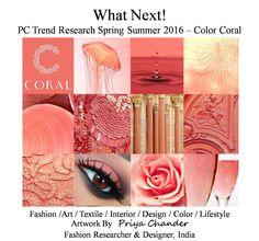 #fashion #art #design #coral #SS2016 #Spring2016 #interiordesign #craft #coralcolor #fashiontrends