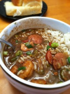 Creole Gumbo. On a Freezing... Chilly... Nippy... Winter day/night... Toasting the New Year!!