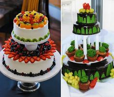 amazing wedding cakes from around the world | Fruit Cake Wedding Cake Ideas and Designs