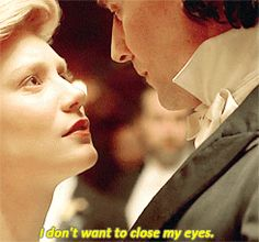 """Edith: """"Why are we doing this?"""" Gif-set (by lokihiddleston): http://maryxglz.tumblr.com/post/150876068847/lokihiddleston-edith-why-are-we-doing-this #SharpeSaturday"""
