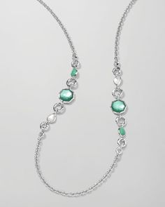 Wonderland 2-Station Necklace, Mint by Ippolita at Neiman Marcus.