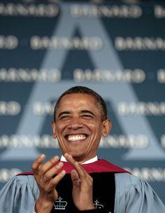 Joyous Commander-in-Chief!