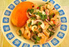 Eleni's Culinary Journey: Ceviche con Camarones