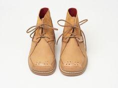 Salome T-Bar Leather Shoes Crimson — Yaya Lala