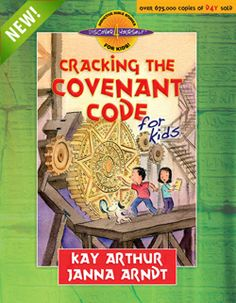 """Teach your kids or grandchildren that God always keeps His Covenant promises! Check out Precept's NEW Bible study Discover 4 Yourself """"Cracking the Covenant Code"""" for kids."""