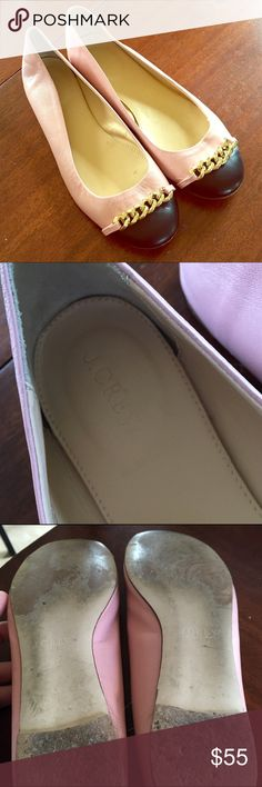 J. Crew Flats In great used condition, minor details of wear but has plenty of years left in them. J. Crew Shoes Flats & Loafers