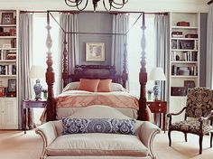 Beautifully #colored #bedroom