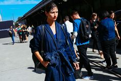 The Best Street Style from Australian Fashion Week Fall 2015