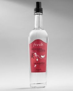 Fresh Memoirs of a Geisha Eau de Parfum (2.5 oz) Perfume by Fresh. $107.99. Size:  (2.5 fl. oz.) / 75 ml.. Condition:  New in the Box. Fresh Memoirs of a Geisha Eau de Parfum Fragrance. DISCONTINUED / No Longer Available in Stores. Gender:  Women. Fresh f21c MEMOIRS OF A GEISHA Eau de Parfum for Women is a Fragrance with understated Sensuality, inspired by the Film. The Fresh MEMOIRS OF A GEISHA Beauty Collection is based on Asian Traditions of Beauty. *** The Art of the Geisha ...