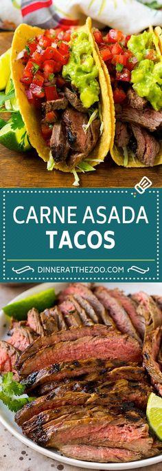 Home Made Doggy Foodstuff FAQ's And Ideas Carne Asada Tacos Recipe Beef Tacos Steak Tacos Carne Asada Steak Tacos, Roast Beef Tacos, Roast Steak, Beef Steak, Fried Steak, Tacos Tacos, Flank Steak, Fish Tacos, Carne Asada Tacos Recipe
