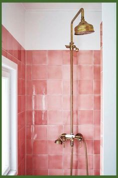 Pantone color of the year Living coral styled in bathroom interior. - Pantone color of the year Living coral styled in bathroom interior. Pantone color of the year Living coral styled in bathroom interior. Bathroom Grey, Bathroom Inspo, Bathroom Inspiration, Modern Bathroom, Small Bathroom, Bathroom Ideas, Pink Bathroom Tiles, Master Bathroom, Shower Tiles