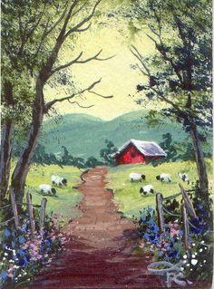 folk art sheep pictures | Sheep Folk Art