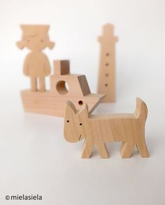 wood dog