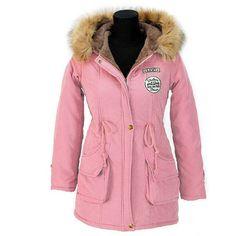 Autumn Parkas Winter Jacket Women Coats Female Outerwear Plus Size Casual Long Down Cotton Wadded Lady Woman Fashion Warm