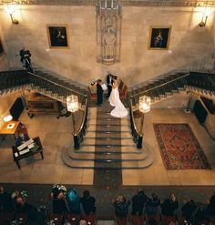 Couples can hold their civil wedding on the staircase at Ashridge near Berkhamsted in Herfordshire