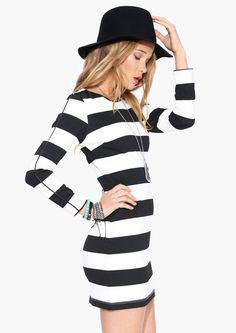yes. stripes are awesome. long sleeve dresses are awesome. exposed stitching or seaming is awesome.