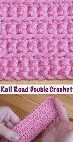 Diy Crafts-techniques,CrochetTechniques-How To Crochet The Rail Road Stitch crochet techniques - Crochet Techniques crochet techniques CrochetTech Crochet Crafts, Crochet Yarn, Crochet Hooks, Crochet Projects, Free Crochet, Dishcloth Crochet, Doilies Crochet, Crochet Mandala, Diy Crafts