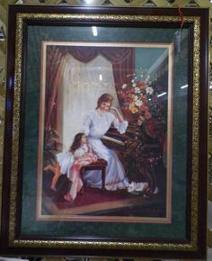 home interior angel portrait in arey s garage sale brownwood tx