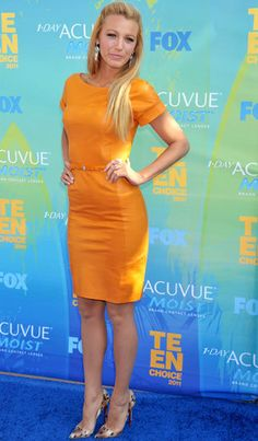 Blake Lively - love the dress (and color)