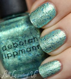 Deborah Lippmann The Mermaids Summer 2013 Nail Polish Swatches | All Lacquered Up.  MERMAIDS DREAM