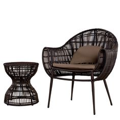 Love this Chair and side table set..
