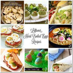 8 hard boiled egg recipes