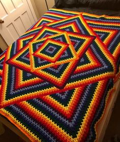 Transcendent Crochet a Solid Granny Square Ideas. Inconceivable Crochet a Solid Granny Square Ideas. Crochet Motifs, Crochet Quilt, Granny Square Crochet Pattern, Afghan Crochet Patterns, Crochet Squares, Crochet Granny, Crochet Blankets, Crochet Afghans, Bargello Patterns
