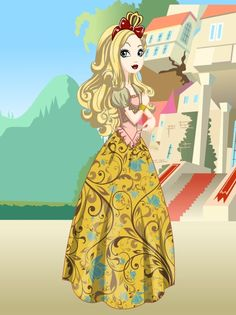 Ever After High Applewhite | Apple White (Ever After High) by kellys2s2 on deviantART