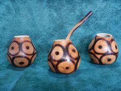 3 Gourd 1 Bombilla Straw Yerba Mate Tea Infusion Argentino Gaucho Uruguay Brazil Paraguay Chile Tango by robertolascano on Etsy