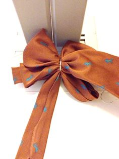 Tutorial- Learn to make a Bow using a Necktie