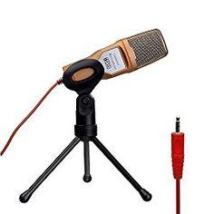 Tonor 高音質 コンデンサーマイク スタジオレコーディング 3.5ミニプラグ スカイプ/宅録/動画投稿/ゲーム実況 ゴールド TN326GO 【この製品のポイント】 1)軽量 2)スタンド付き 3)声質明るめ 電源スイッチもないシンプルな構造のコンデンサーマイク。ミニオーディオプラグ式でほとんどのPCやスマートメディアで使用可能。本体はかなり軽量で三脚式のスタンドも付いており、使い勝手は良い。 指向性は強くなく、比較的広範囲の音を拾う。近くでテレビをつけていたり、エアコンなどが動作しているとその音も入る可能性が高い。声はかなり明るめで元気な感じではいる。チャットや動画実況などでは楽しい感じ…