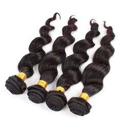 5A Human Romantic Natural Black #1b Indian Loose Wave Virgin Hair Weaves 4Bundle/Lot 10 30 Human Remy Hair Bulk Can Dyed,High Quality bulk plush,China can obd2 code reader Suppliers, Cheap bulk towel from Hot Queen Hairs Co., Ltd on Aliexpress.com www.hotqueenhair.com Indian Hairstyles, Weave Hairstyles, Prom Dresses 2016, Prom 2016, Hair Weft, Hair Weaves, Queen Hair, Loose Waves, Remy Hair
