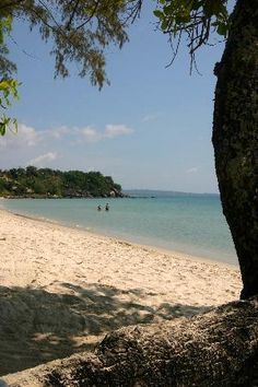 Cambodia - Sianoukville - This is where we chilled on the beach for a few days.